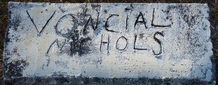 NICHOLS, VONCIAL - Wakulla County, Florida | VONCIAL NICHOLS - Florida Gravestone Photos