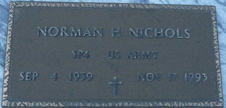NICHOLS (VETERAN), NORMAN H (NEW) - Wakulla County, Florida | NORMAN H (NEW) NICHOLS (VETERAN) - Florida Gravestone Photos