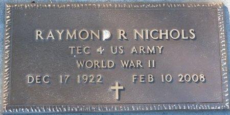 NICHOLS (VETERAN WWII), RAYMOND R (NEW) - Wakulla County, Florida | RAYMOND R (NEW) NICHOLS (VETERAN WWII) - Florida Gravestone Photos