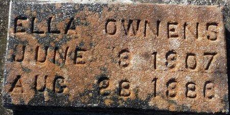 OWENS, ELLA - Wakulla County, Florida | ELLA OWENS - Florida Gravestone Photos