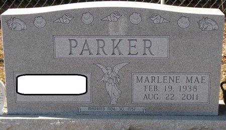 CHRISTIAN PARKER, MARLENE MAE - Wakulla County, Florida   MARLENE MAE CHRISTIAN PARKER - Florida Gravestone Photos