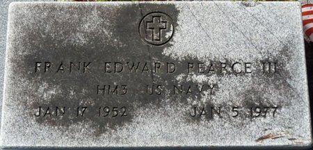 PEARCE III (VETERAN), FRANK EDWARD (NEW) - Wakulla County, Florida | FRANK EDWARD (NEW) PEARCE III (VETERAN) - Florida Gravestone Photos