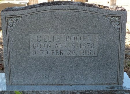 POOLE, OLLIE - Wakulla County, Florida | OLLIE POOLE - Florida Gravestone Photos