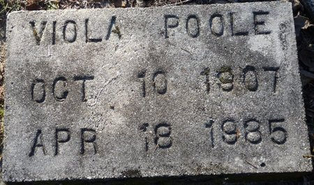 POOLE, VIOLA - Wakulla County, Florida | VIOLA POOLE - Florida Gravestone Photos
