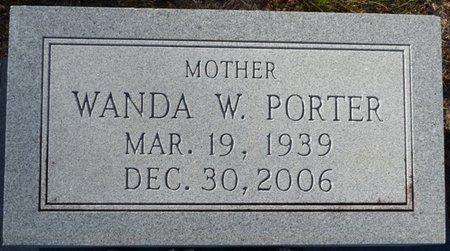 PORTER, WANDA W - Wakulla County, Florida | WANDA W PORTER - Florida Gravestone Photos