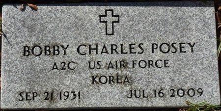 POSEY (VETERAN KOR), BOBBY CHARLES (NEW) - Wakulla County, Florida   BOBBY CHARLES (NEW) POSEY (VETERAN KOR) - Florida Gravestone Photos