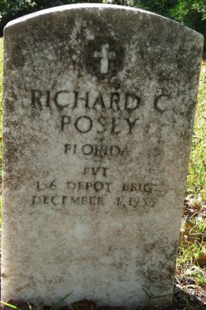 "POSEY (VETERAN), RICHARD COLUMBUS ""TAD"" (NEW) - Wakulla County, Florida 