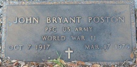 POSTON (VETERAN WWII), JOHN BRYANT (NEW) - Wakulla County, Florida | JOHN BRYANT (NEW) POSTON (VETERAN WWII) - Florida Gravestone Photos