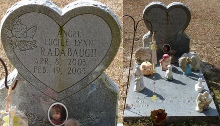 RADABAUGH, ANGEL LUCILE LYNN - Wakulla County, Florida | ANGEL LUCILE LYNN RADABAUGH - Florida Gravestone Photos