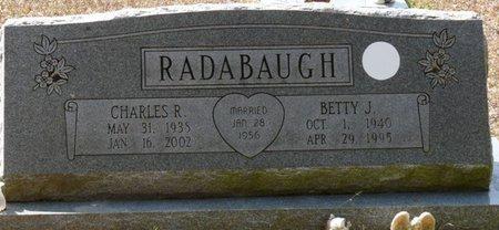 RADABAUGH, CHARLES R - Wakulla County, Florida | CHARLES R RADABAUGH - Florida Gravestone Photos