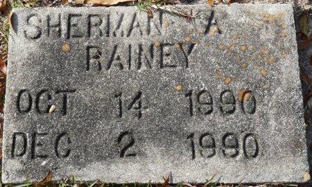 RAINEY, SHERMAN A - Wakulla County, Florida | SHERMAN A RAINEY - Florida Gravestone Photos