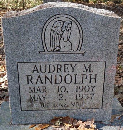 RANDOLPH, AUDREY M - Wakulla County, Florida | AUDREY M RANDOLPH - Florida Gravestone Photos