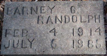 RANDOLPH, BARNEY G - Wakulla County, Florida | BARNEY G RANDOLPH - Florida Gravestone Photos