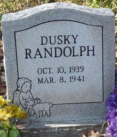 RANDOLPH, DUSKY - Wakulla County, Florida | DUSKY RANDOLPH - Florida Gravestone Photos