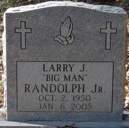 "RANDOLPH JR., LARRY J. ""BIG MAN"" - Wakulla County, Florida | LARRY J. ""BIG MAN"" RANDOLPH JR. - Florida Gravestone Photos"