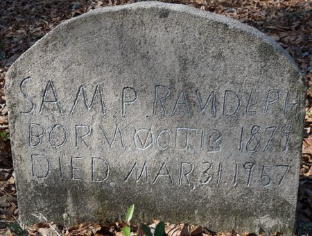 RANDOLPH, SAM P - Wakulla County, Florida | SAM P RANDOLPH - Florida Gravestone Photos
