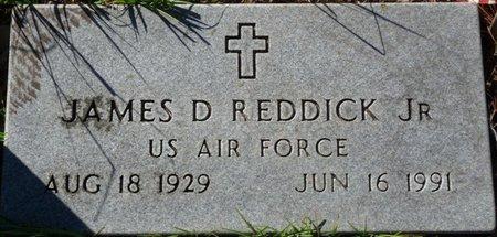 REDDICK JR. (VETERAN), JAMES DURWARD (NEW) - Wakulla County, Florida | JAMES DURWARD (NEW) REDDICK JR. (VETERAN) - Florida Gravestone Photos