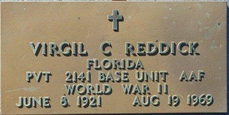 REDDICK (VETERAN WWII), VIRGIL CLIFFORD (NEW) - Wakulla County, Florida   VIRGIL CLIFFORD (NEW) REDDICK (VETERAN WWII) - Florida Gravestone Photos