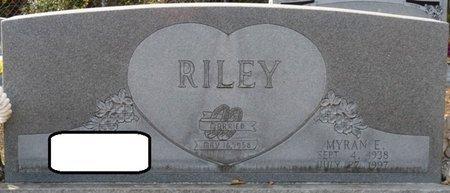 RILEY, MYRAN E - Wakulla County, Florida | MYRAN E RILEY - Florida Gravestone Photos