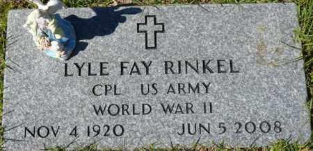 RINKEL (VETERAN WWII), LYLE FAY (NEW) - Wakulla County, Florida | LYLE FAY (NEW) RINKEL (VETERAN WWII) - Florida Gravestone Photos