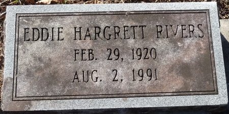 RIVERS, EDDIE HARGRETT - Wakulla County, Florida | EDDIE HARGRETT RIVERS - Florida Gravestone Photos