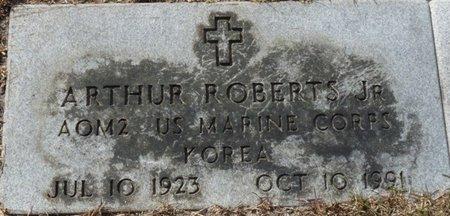 ROBERTS JR. (VETERAN KOR), ARTHUR (NEW) - Wakulla County, Florida   ARTHUR (NEW) ROBERTS JR. (VETERAN KOR) - Florida Gravestone Photos