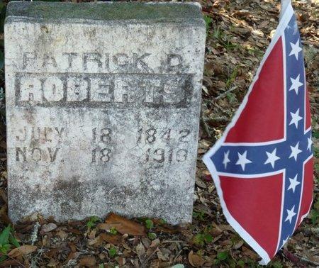 ROBERTS, PATRICK D - Wakulla County, Florida   PATRICK D ROBERTS - Florida Gravestone Photos