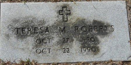 ROBERTS, TERESA M - Wakulla County, Florida | TERESA M ROBERTS - Florida Gravestone Photos