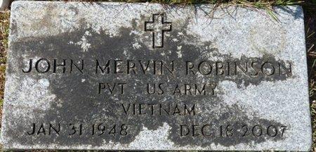 ROBINSON (VETERAN VIET), JOHN MERVIN (NEW) - Wakulla County, Florida   JOHN MERVIN (NEW) ROBINSON (VETERAN VIET) - Florida Gravestone Photos