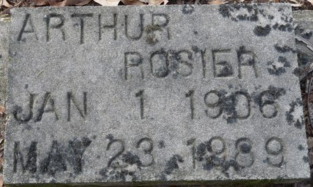 ROSIER, ARTHUR - Wakulla County, Florida   ARTHUR ROSIER - Florida Gravestone Photos