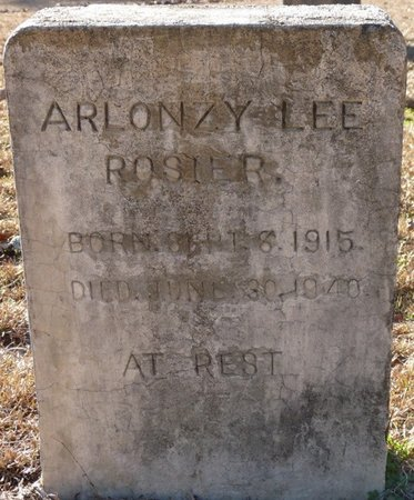 ROSIER, ARLONZY LEE - Wakulla County, Florida | ARLONZY LEE ROSIER - Florida Gravestone Photos
