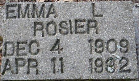 ROSIER, EMMA L - Wakulla County, Florida   EMMA L ROSIER - Florida Gravestone Photos