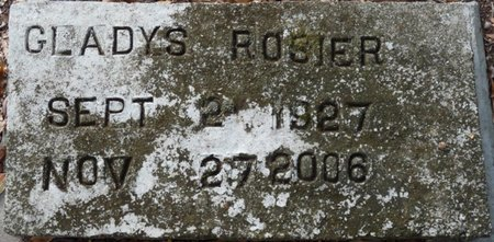 HILL ROSIER, GLADYS BEULAH - Wakulla County, Florida | GLADYS BEULAH HILL ROSIER - Florida Gravestone Photos