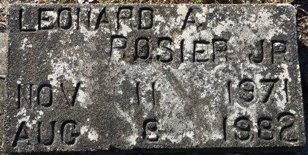 ROSIER JR., LEONARD A - Wakulla County, Florida | LEONARD A ROSIER JR. - Florida Gravestone Photos