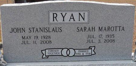 RYAN, SARAH - Wakulla County, Florida | SARAH RYAN - Florida Gravestone Photos