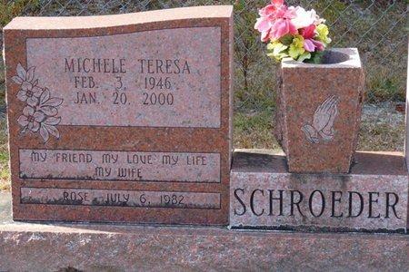 SCHROEDER, MICHELE TERESA - Wakulla County, Florida | MICHELE TERESA SCHROEDER - Florida Gravestone Photos