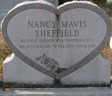 SHEFFIELD, NANCY MAVIS - Wakulla County, Florida   NANCY MAVIS SHEFFIELD - Florida Gravestone Photos