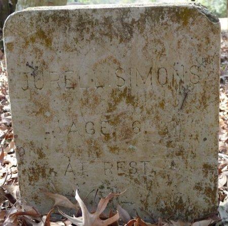SIMONS, JURELE - Wakulla County, Florida | JURELE SIMONS - Florida Gravestone Photos