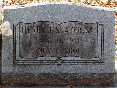 SLATER SR., HENRY J - Wakulla County, Florida   HENRY J SLATER SR. - Florida Gravestone Photos