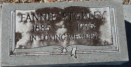 STOKLEY, FANNIE - Wakulla County, Florida   FANNIE STOKLEY - Florida Gravestone Photos