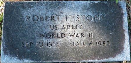 STONE (VETERAN WWII), ROBERT H (NEW) - Wakulla County, Florida | ROBERT H (NEW) STONE (VETERAN WWII) - Florida Gravestone Photos