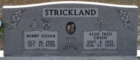 GREEN STRICKLAND, ALSIE FRED - Wakulla County, Florida | ALSIE FRED GREEN STRICKLAND - Florida Gravestone Photos