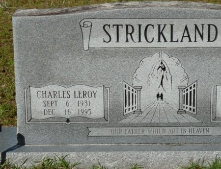 STRICKLAND, CHARLES LEROY - Wakulla County, Florida   CHARLES LEROY STRICKLAND - Florida Gravestone Photos