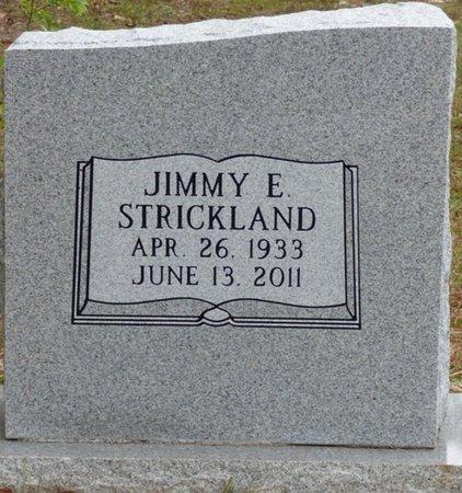 STRICKLAND, JIMMY ERASTUS - Wakulla County, Florida   JIMMY ERASTUS STRICKLAND - Florida Gravestone Photos