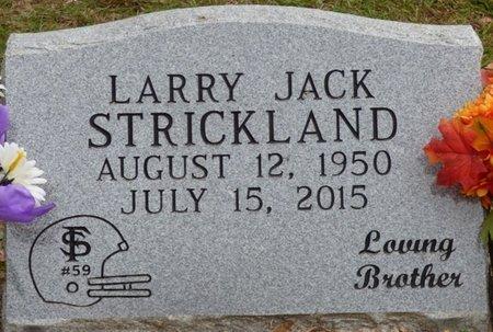STRICKLAND, LARRY JACK - Wakulla County, Florida | LARRY JACK STRICKLAND - Florida Gravestone Photos