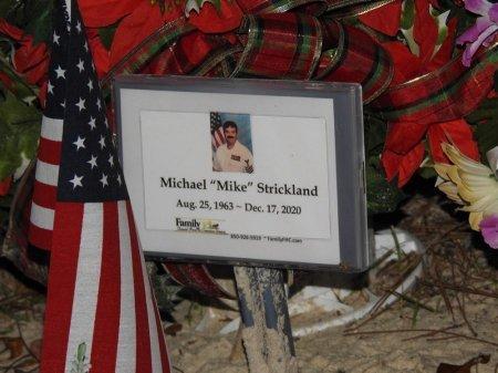 "STRICKLAND, MICHAEL ""MIKE"" - Wakulla County, Florida | MICHAEL ""MIKE"" STRICKLAND - Florida Gravestone Photos"