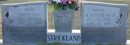 STRICKLAND, MAMIE JEANETTE - Wakulla County, Florida | MAMIE JEANETTE STRICKLAND - Florida Gravestone Photos