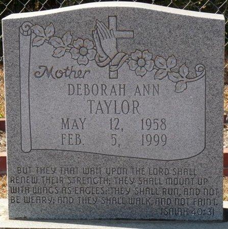 TAYLOR, DEBORAH ANN - Wakulla County, Florida | DEBORAH ANN TAYLOR - Florida Gravestone Photos