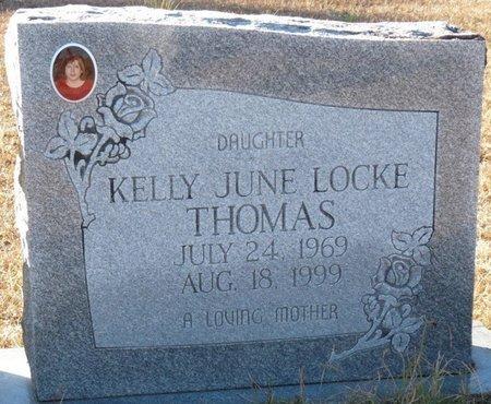 THOMAS, KELLY JUNE - Wakulla County, Florida | KELLY JUNE THOMAS - Florida Gravestone Photos