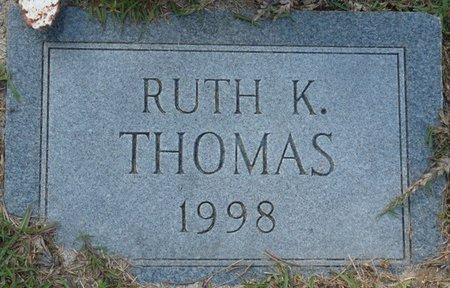 THOMAS, RUTH - Wakulla County, Florida | RUTH THOMAS - Florida Gravestone Photos